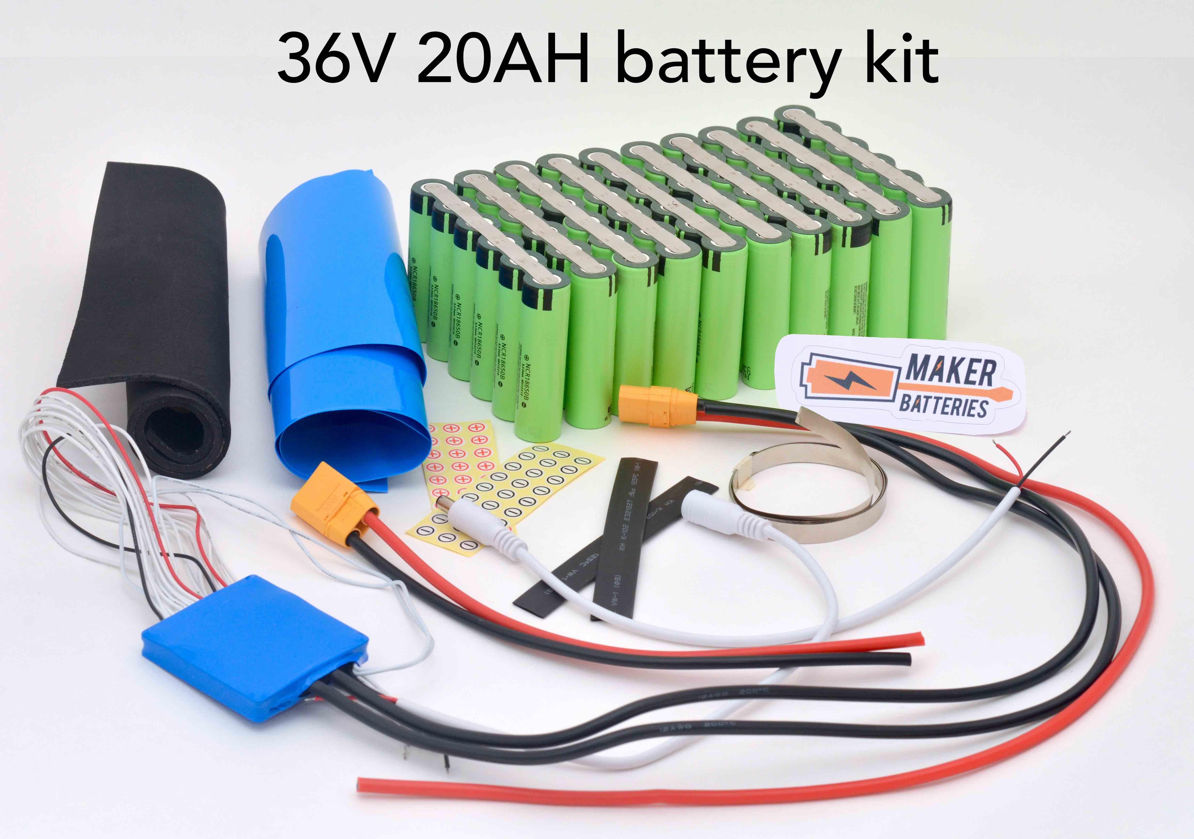 36v 20ah Maker Battery Module Kit Diy Batteries